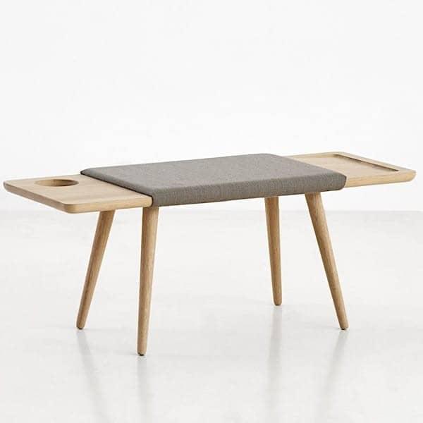 banc multifonctionnel baenk en ch ne woud. Black Bedroom Furniture Sets. Home Design Ideas