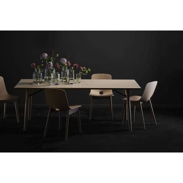 Alley mesa de comedor en madera maciza woud - Mesa comedor madera maciza ...