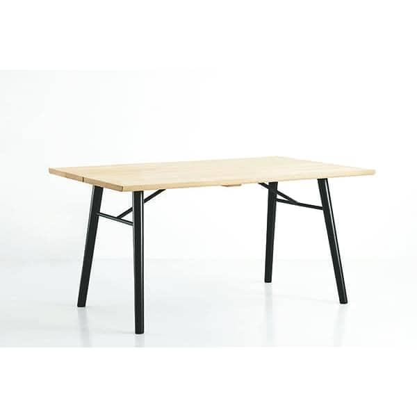Alley tavolo da pranzo in legno massello woud - Tavolo scandinavo ...