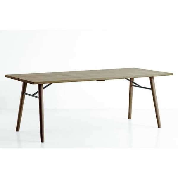 Perfekt ... ALLEY : Typisch Skandinavisch, Ein Esstisch Aus Massivholz Mit  Charakter Und Persönlichkeit