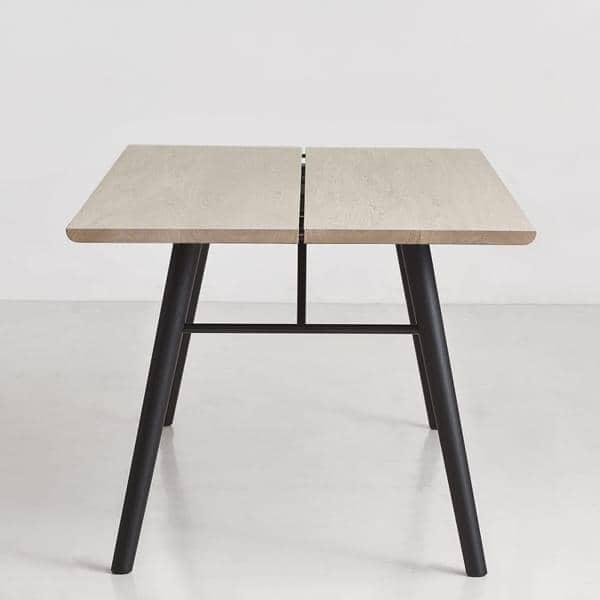 ALLEY, tavolo da pranzo in legno massello, WOUD