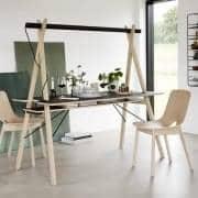 AA DESK : et arbeidsområde designet for å forenkle livet ditt. Og dessuten er det vakkert! WOUD.