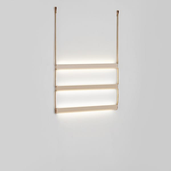Ladder light light woud for Deko design shop