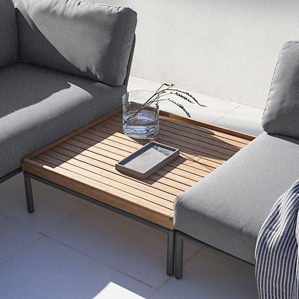 garden furniture level to compose high quality sofa ottoman and coffee table by houe. Black Bedroom Furniture Sets. Home Design Ideas
