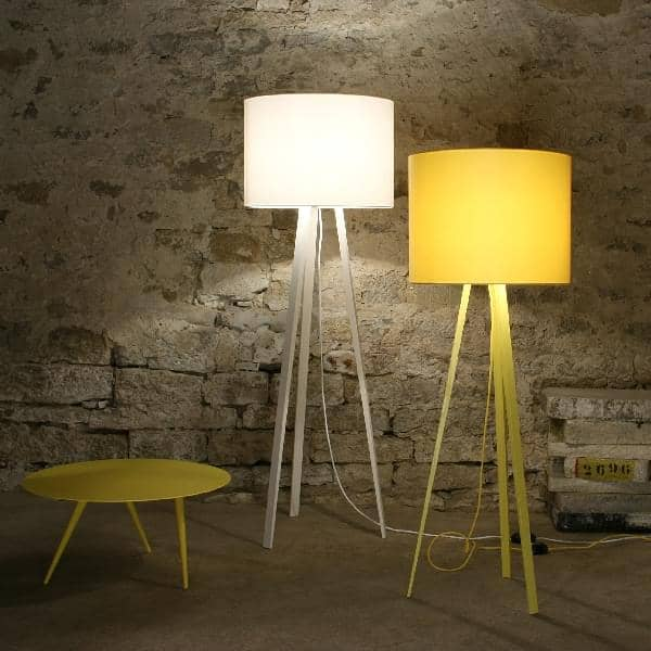 LUCA STAND HIGH, floor lamp, Ø 50 cm - H 165 cm, by MAIGRAU, beautify your  living room, your office or bedroom