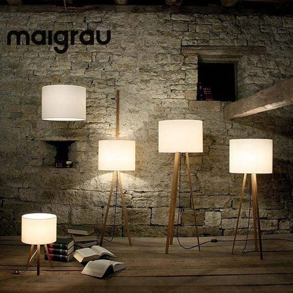 LUCA STAND, gulvlampe, MAIGRAU