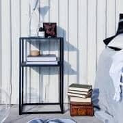 DOMO STORAGE storage hoher Qualität, hergestellt aus lackiertem Metall, Design und funktional.