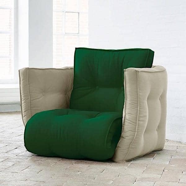 LOFTY, Futon armchair convertible, NORDIC DESIGN