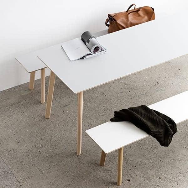 COPENHAGUE CPH DEUX spisebordssamling i massivt tre og kryssfinér, av Ronan og Erwan Bouroullec