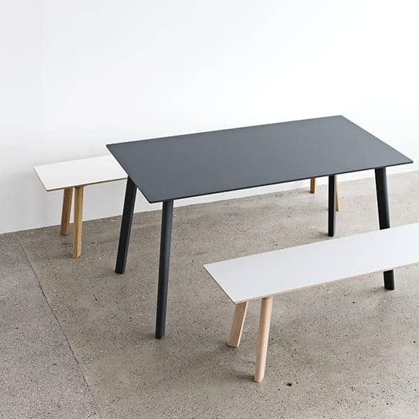 The bouroullec brothers copenhague deux collection is a versatile range of tables and benches - Table copenhague bouroullec ...