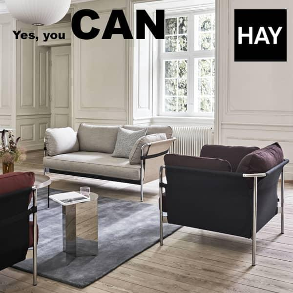 Le sofa CAN par les frères Bouroullec : sofa 2 ou 3 places, et fauteuil - fonctionnels et confortables