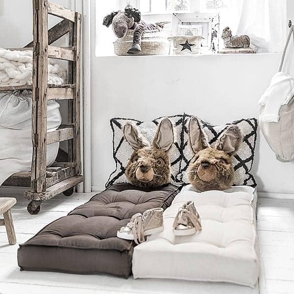 LOFTY, Fauteuil futon convertible en lit une ou deux place, pour adultes et enfants : doux, pratique, et confortable