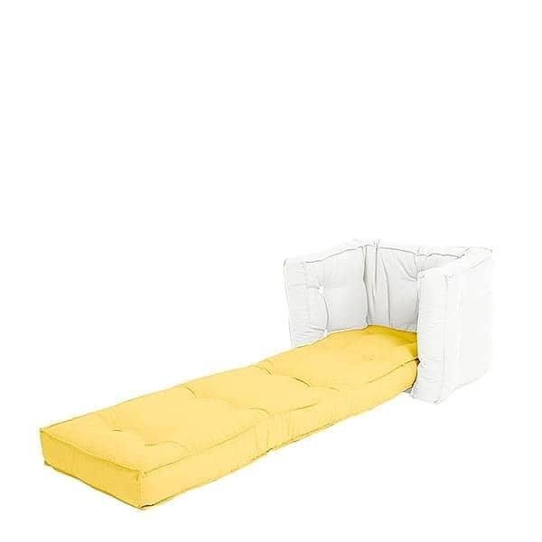 little lofty fauteuil futon convertible en lit une ou deux place pour enfants doux pratique. Black Bedroom Furniture Sets. Home Design Ideas