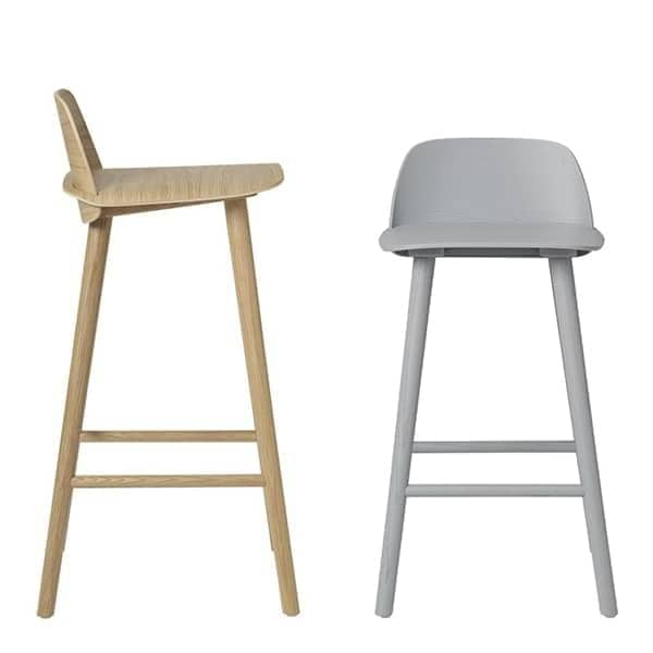 Danish Modern Counter Stool