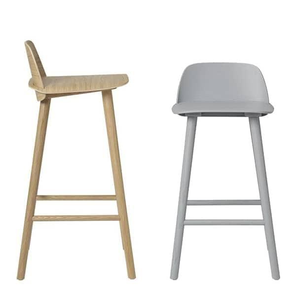 Nerd Bar Stool Comfort And Scandinavian Design Muuto