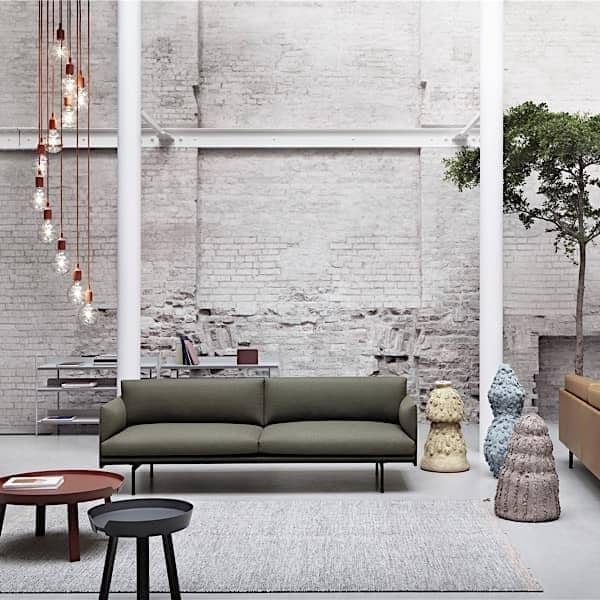 Der Around Couchtisch Massivholz Muuto Around Xl 95 X 36 Cm