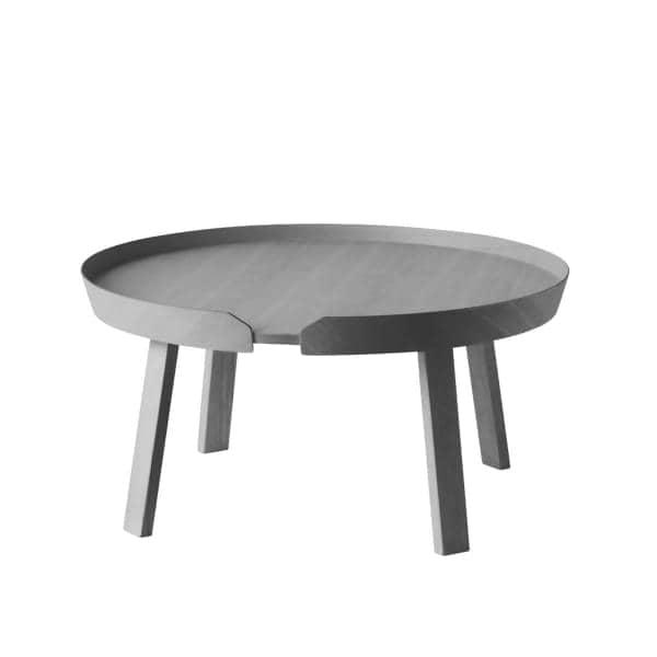La table basse AROUND, l'alliance du bois massif et du design. Muuto
