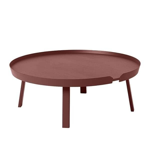 La table basse AROUND, l'alliance du bois massif et du design. Muuto