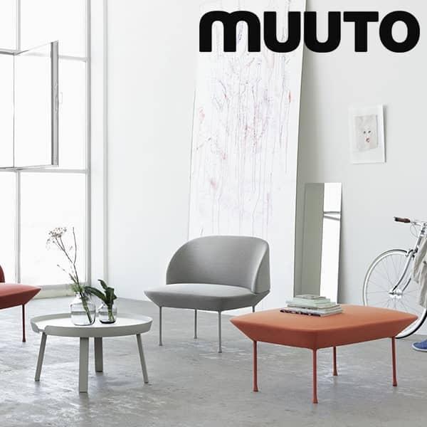 The OSLO pouf, a precise and refined design. Muuto