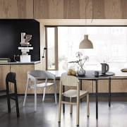 UNFOLD pendant lamp, made of soft silicone rubber material. Muuto