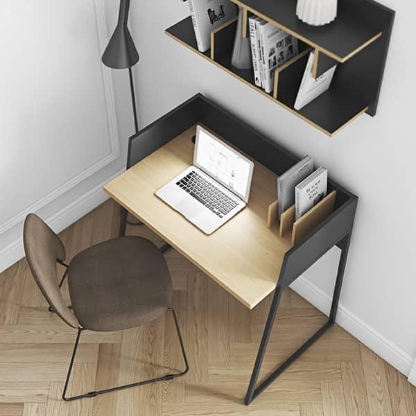 VOLGA桌子:紧凑,设计实用,通用。