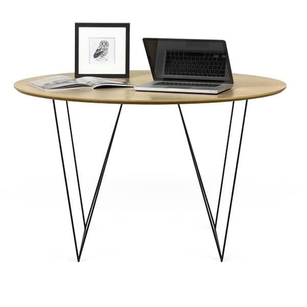 Tables rondes ROW, élégantes et modernes. TEMAHOME