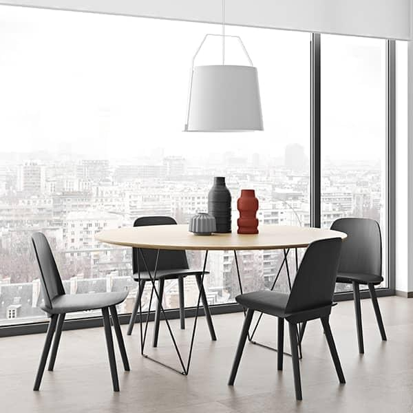 Row Round Dining Tables Elegant And Modern Temahome