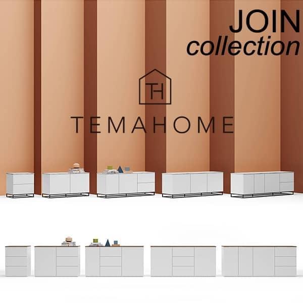 Credenze di design ed eleganti, collezione JOIN, firmate TEMAHOME.
