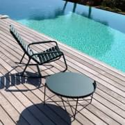 CLIPS כיסאות נדנדה בחוץ עם משענות יד, על ידי HOUE
