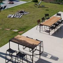 Table de jardin design, mobilier extérieur moderne qualité - my-deco ...