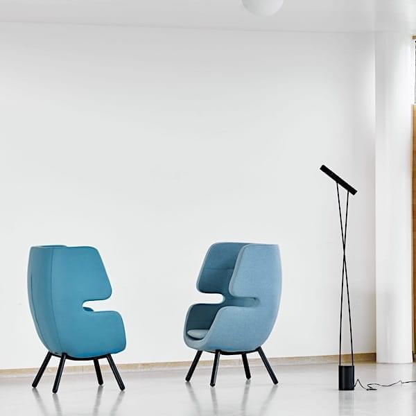 MOAI, en lounge lænestol, der fungerer som et dejligt tilflugtssted for dine øjeblikke af afslapning