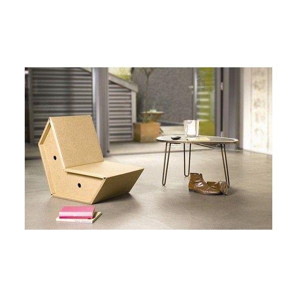 sessel otto ist aus ultra starkem karton pulpo. Black Bedroom Furniture Sets. Home Design Ideas