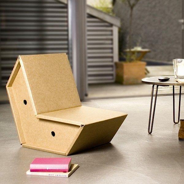 OTTO ist aus ultra-starkem Karton, für Möbel - Deko und Design, PULPO
