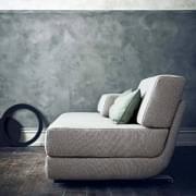 LOUNGE Sofa: Cabriolet Sofa, 3 seter, Chaise Longue: Smukke kombinationer. SOFTLINE