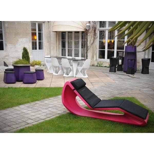 Der liegestuhl organic qui est paul for Outdoor deko