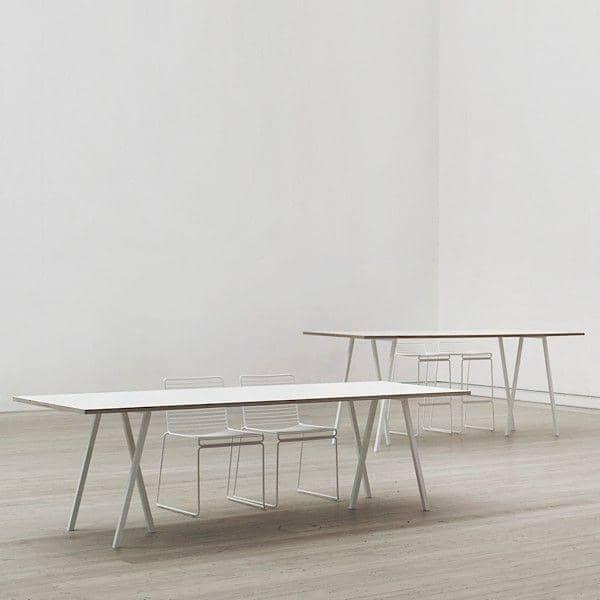 El LOOP mesa de comedor por HAY es hermoso, fácil y asequible para vivir - deco y el diseño