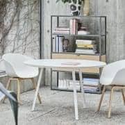 جولة LOOP طاولة الطعام، أو طاولة عالية، جميلة وسهلة للعيش وبأسعار معقولة - ديكو والتصميم