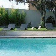 SET : 2 WAVE sdraio - l'eleganza al suo miglior prezzo, in giardino o sulla terrazza - deco e del design