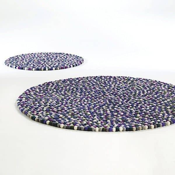 Le tapis PINOCCHIO par HAY : la couleur et le confort d'une pure laine - cosy,
