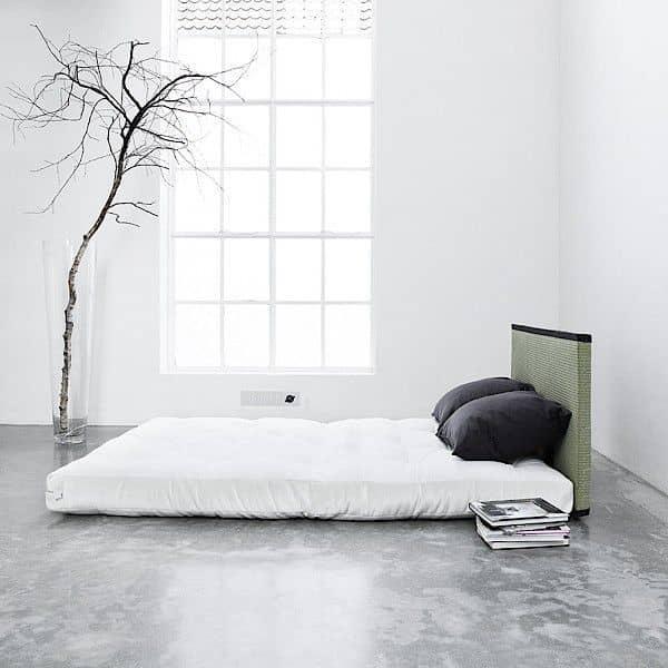 Tatami Sofa Bed Futon 2 Almofadas De Encosto Realmente Um Bom