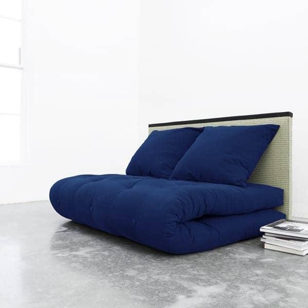 Tatami sofa bed futon 2 back puter tatami nordic design for Divan bed and mattress deals
