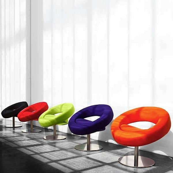 O HELLO Chair é redonda, aberta e feliz - deco e design, SOFTLINE