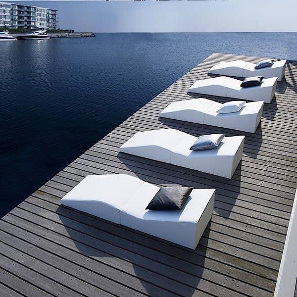 SHAPE, lounge stol, grafisk og meget komfortabel - indendørs eller udendørs, komfort passer til alle situationer - Deco og design, SOFTLINE