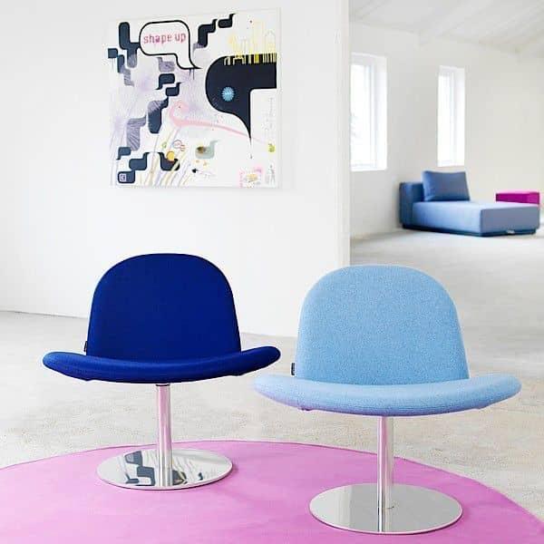 Orlando è una sedia girevole moderna, e una sedia molto comoda! - Deco e del design, SOFTLINE