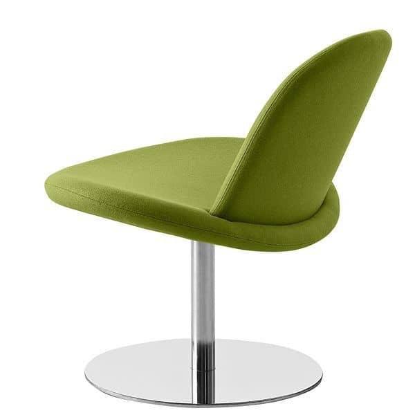 Orlando es una silla giratoria moderna softline for Comodas diseno italiano