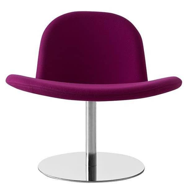 Le Fauteuil ORLANDO : un design épuré, joyeux, pour un fauteuil très confortable !