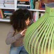 BUZZILIGHT, myk og sjenerøs hengende lampe! Akustikk, eco, deco og design