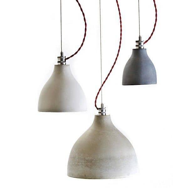 HEAVY LIGHT COLLECTION - lámparas pendientes, hormigón fundido a mano: puro, decoración y diseño, DECODE