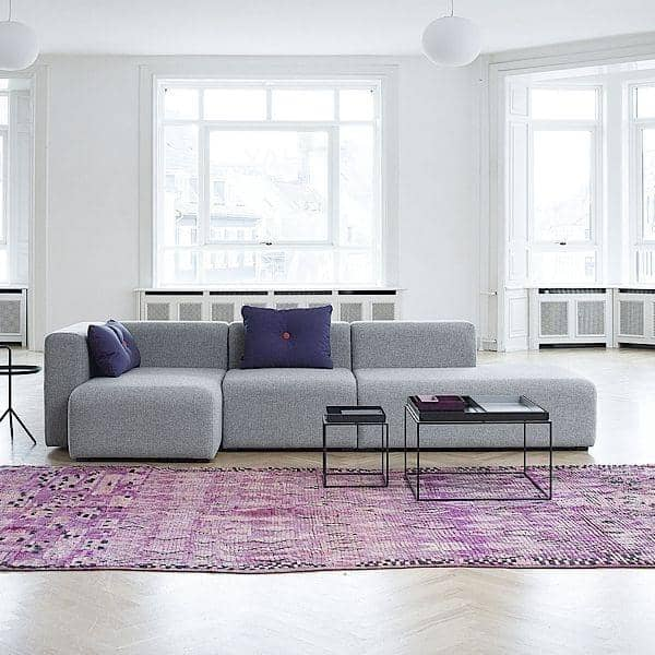 MAGS Sofa Modular units Fabrics versions create your own sofa HAY
