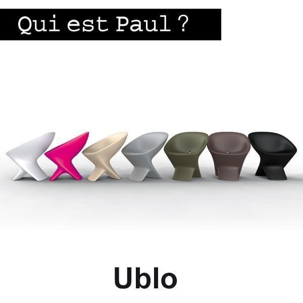 Fauteuil UBLO - confort extrême et lignes douces, QUI EST PAUL